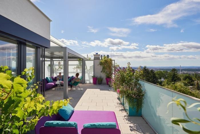 Lieblings Dachterrassengestaltung | gruenhoch3 &TW_45